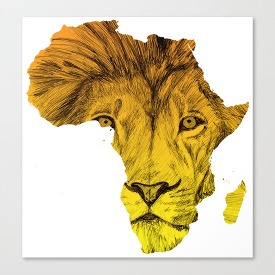King Of The Jungle! Canvas Print