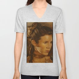 Princess Leia Organa Unisex V-Neck
