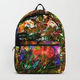 RED magic FOREST Backpack