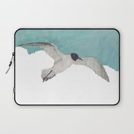 Seagull, Sky, Beach, Coastal Laptop Sleeve