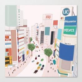 Shibuya 109 Canvas Print