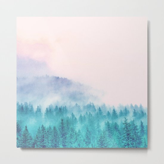 Popsicle Forest Metal Print