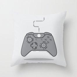xbox controller Throw Pillow