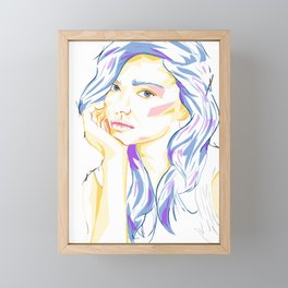 Miranda Framed Mini Art Print