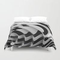 focus Duvet Covers featuring Focus by Digital Kitchen