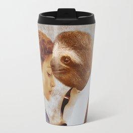 Sloth as Jack Dawson Travel Mug