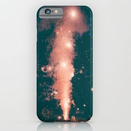 FIREWORKS - NIGHT - STARS - PHOTOGRAPHY iPhone Case