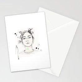 City Chic Fashion Illustration Stationery Cards