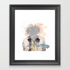 The one with head Framed Art Print