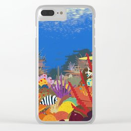 The Coral Reef That Once Was... Clear iPhone Case