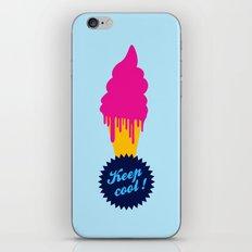 Ice cream - Keep cool  iPhone & iPod Skin