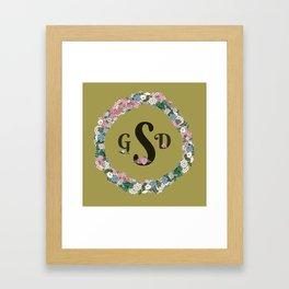 gsd Framed Art Print