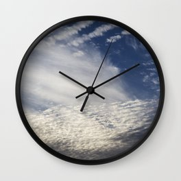 Cirrocumulus Clouds 8 Wall Clock