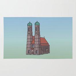Munich Frauenkirche Rug