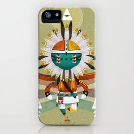 Kachina Toy iPhone Case
