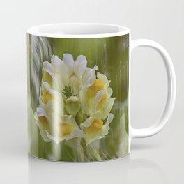 Yellow common Toadflax flower Coffee Mug