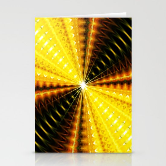 At the end of the light Stationery Cards
