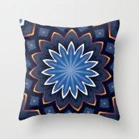 buddha Throw Pillows featuring Buddha by Julie Maxwell