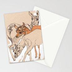 Female Pronghorns Stationery Cards