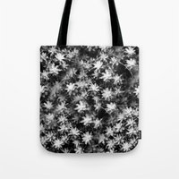 moss Tote Bags featuring Moss by Crazy Thoom