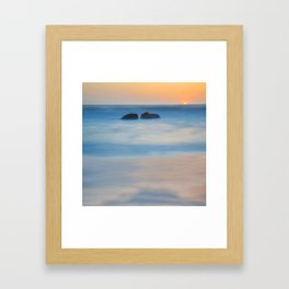 Just Us Framed Art Print