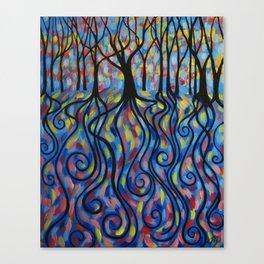 Kaleidoscope Forest Canvas Print