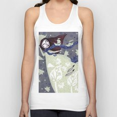 Clouds in November, Autumn Wind Splendor Unisex Tank Top