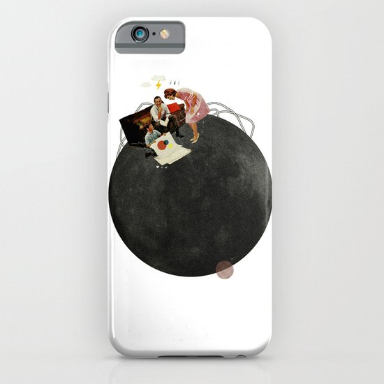Life on Earth  | Collage | White iPhone & iPod Case