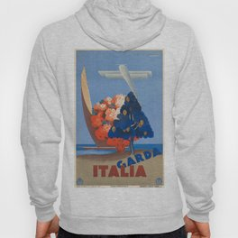 Vintage poster - Italy Hoody