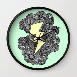 Storm Cloud Wall Clock