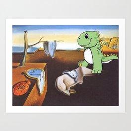Salvador Dino Art Print