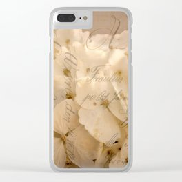 A Touch Of Cinnamon Clear iPhone Case