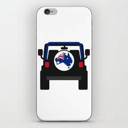 Jeep 'Australia' Rearview iPhone Skin