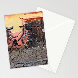 Bicycle On Sidewalk Stationery Cards