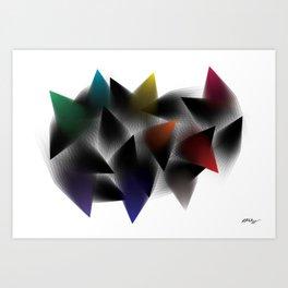 Break Away and Be More Art Print
