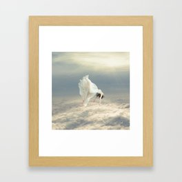 Free Falling Dream Framed Art Print