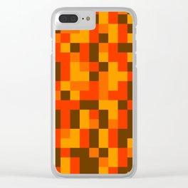 Cornucopia Clear iPhone Case