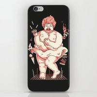 marylin monroe iPhone & iPod Skins featuring Marylin by bigadi