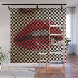 Sexy mouth Wall Mural
