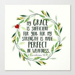 Perfect Grace Canvas Print