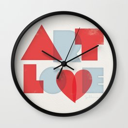 Art Love Wall Clock