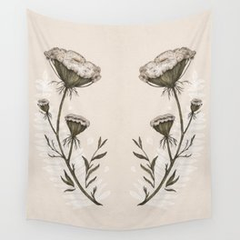 Queen Anne's Lace Wall Tapestry