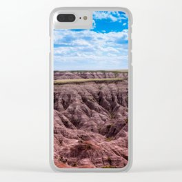 Bad Lands 4 Clear iPhone Case