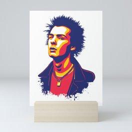 Sid Vicious Mini Art Print