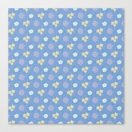 Hana Space - Violet And All Canvas Print