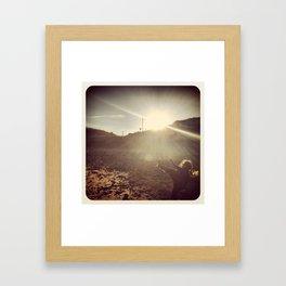 The Beautiful Game Framed Art Print