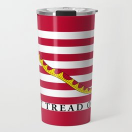 First Navy Jack of the United States of America flag Travel Mug
