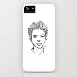 Scott, Stiles, and Derek ( Teen Wolf fanart ) iPhone Case