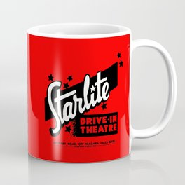 Starlite Drive In Red Coffee Mug