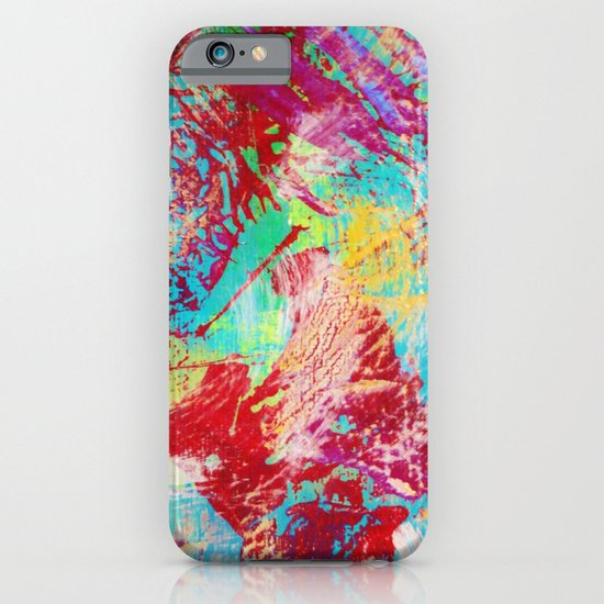 REEF STORM - Fun Bright BOLD Playful Rainbow Colors Underwater Ocean Reef Theme Coral Aquatic Life iPhone & iPod Case